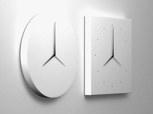 U0027long Du0027 Clocks Designed By Kit Men Keungs For Verso Lab · Contemporary Wall  ...