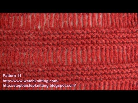 Cage) - Simple Knitting Patterns - Free Knitting Tutorials - Watch ...
