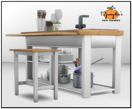 Sims 4 Kitchen Island Bar Stool 13pumpkin31 Buy Mode Surfaces