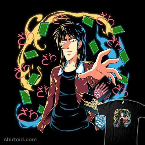Kaiji Shirtoid Anime Coinboxtees Gambling Kaiji Manga
