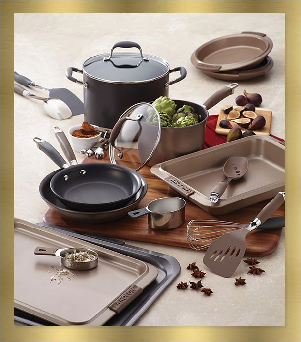 From Musty To Must See Kitchen: Anolon Cookware, We Also Personally Need This In Our