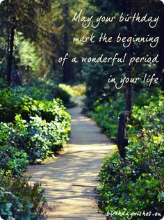 image result for nature themed happy birthday quotes garden