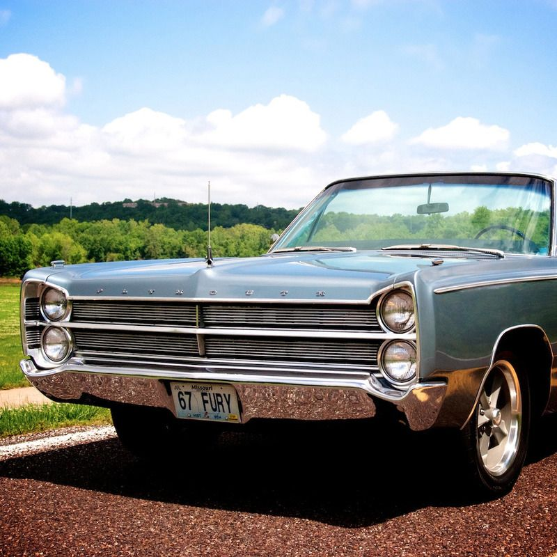 1967 Plymouth Fury for sale - St. Louis, MO | OldCarOnline.com ...