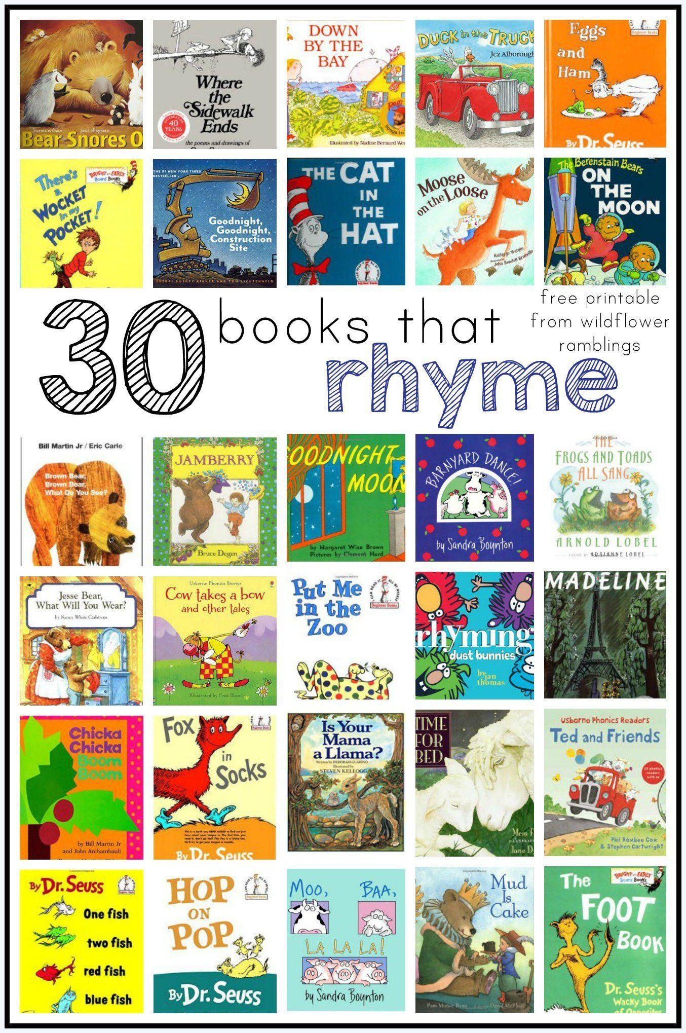 Best Rhyming Books For Children