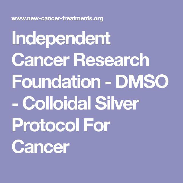 colloidal silver cancer