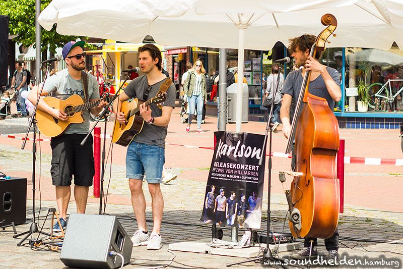 Karlson beim Food Truck Market - Soundhelden   Hamburgs Musikpinnwand