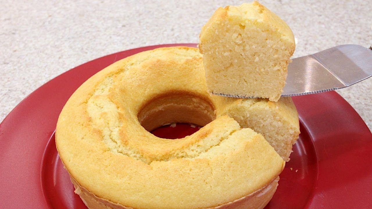 Bolo De Mandioca Umido E Delicioso Para Tomar Com Um Cafezinho