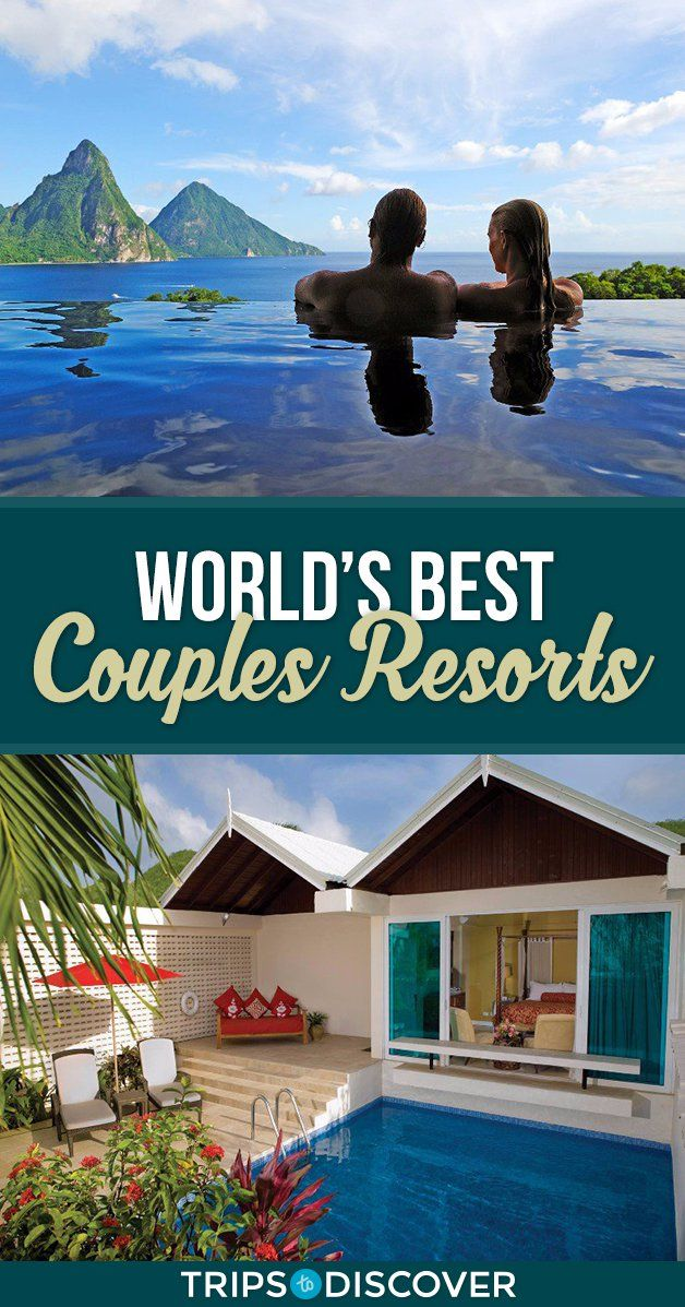 22 Couples Resorts Around the World For Your Next