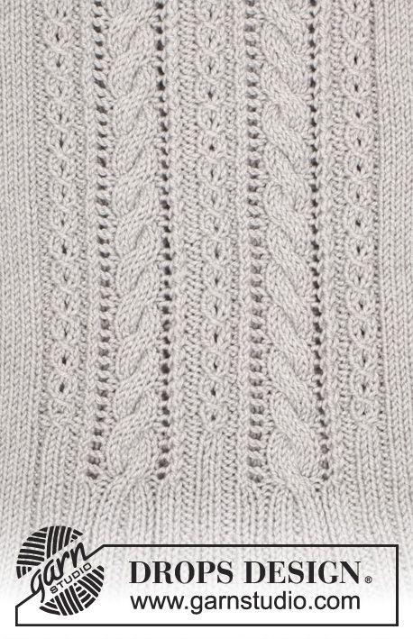Gratis stickmönster   Knitting   Pinterest   Patrones, Puntos y Dos ...