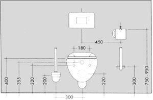 Montage Nach Mass Badezimmer Planen Wc Design Bad Grundriss