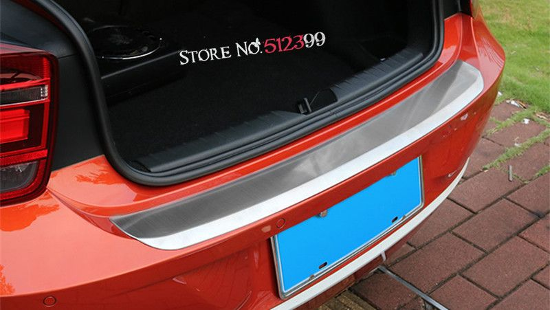 For 5 Doors Version 1 Stainless Steel Plate Rear Trunk Outer