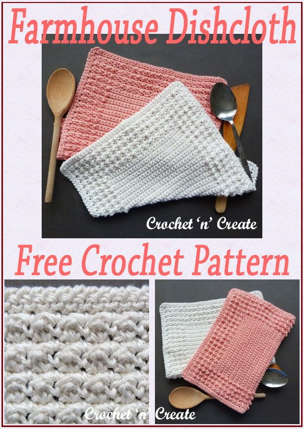 Large colorful dishcloths One surely will match your kitchen.