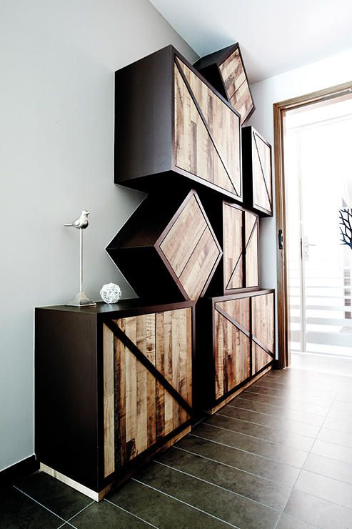Design ideas for storage units in HDB flats | Shelves | Pinterest ...