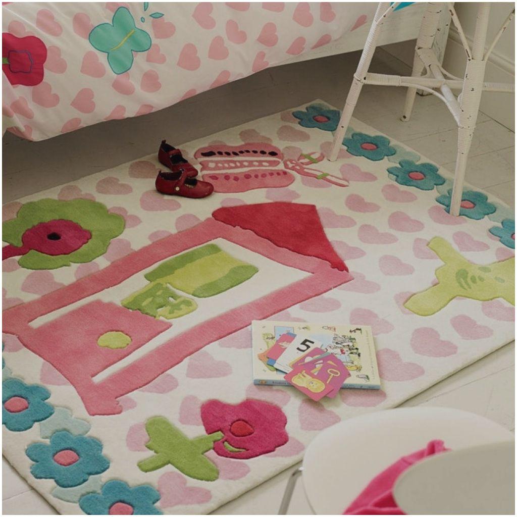 Elegante Teppich Kinderzimmer Madchen Rund Teppich