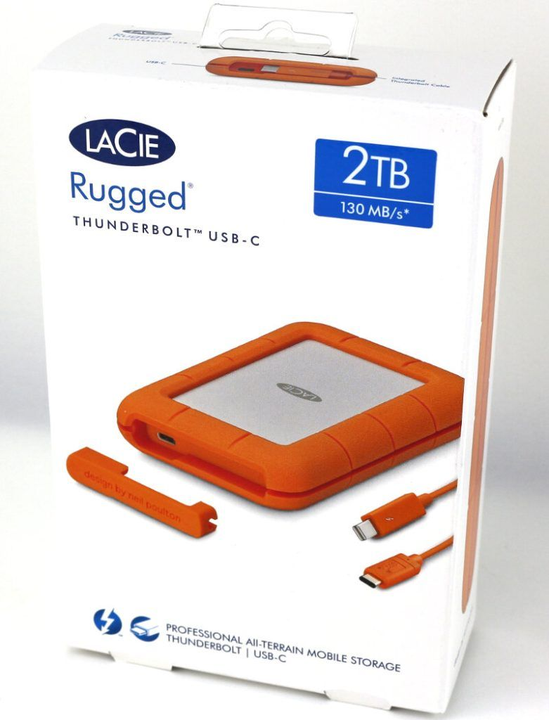 Lacie Rugged 2tb Photo Box 1 Usb Mobile Storage Photo Box