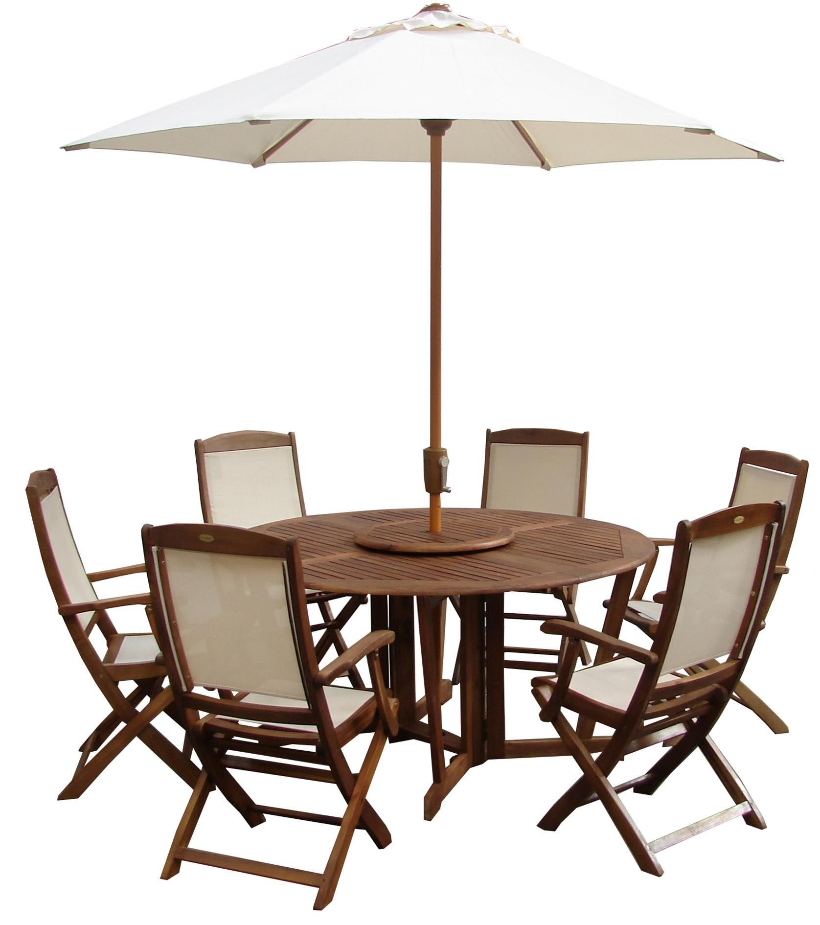 Round Table Patio Furniture Sets Patio Furniture Henley Round Table With 6 Henley Highback Chairs