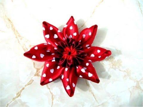 Mo os en cintas para el cabello dise o de flores con nudos for Disenos de pelo