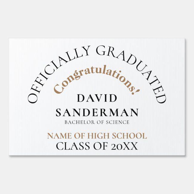 Pin on Graduation Yard Signs