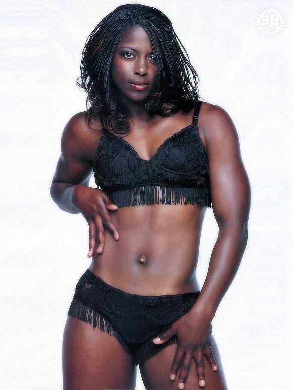 Skinny nude black women