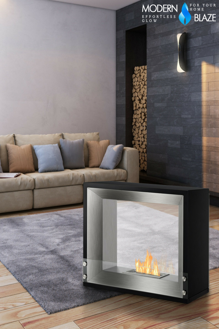 Ignis Tempo 30 Free Standing Ethanol Fireplace Fsf 030