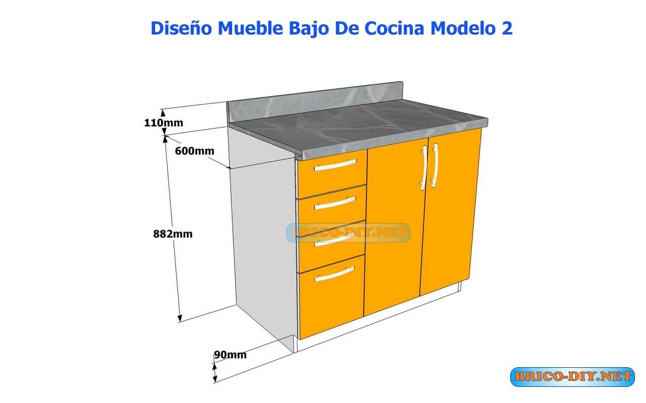 Diagrama de la estructura de un mueble para el dormitorio de placas ...