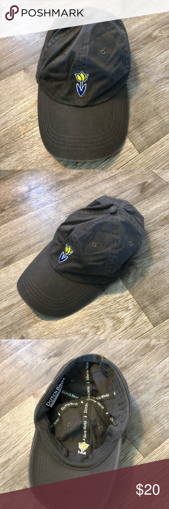 dutch bros tulip dad hat dutch bros tulip dad hat  Size: Adjustable   Good preloved condition. Barely worn   Bundle fav items for a personal discount. Offers are always welcome, too! No trades. Thank you! (60) Dutch Bros Accessories Hats #dutchbros