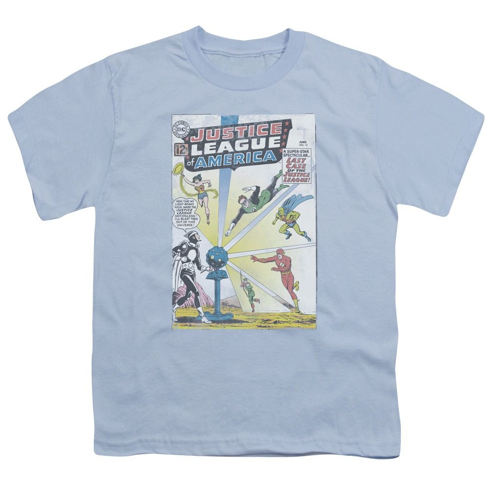 JLA/Vintage Cover 12 Short Sleeve Youth 18/1 Light