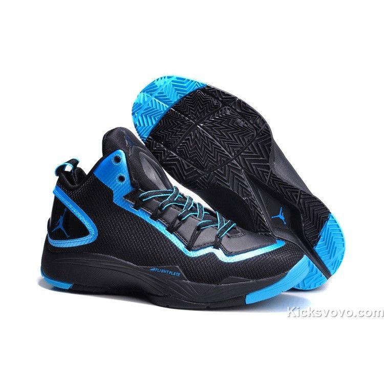 Air Jordan Super Fly 2 Nike Zoom Air Black Blue - Air Jordans Shoe  HistoryAll basketball shoes were white before the introduction of the Air  Jordan.