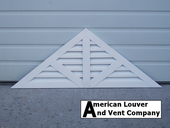 Triangle Gable Vent With Spokes Gable Vents Gable Roof Design Roof Design
