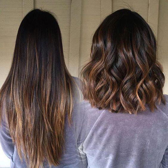10 tintes ombre ideales para morenas de cabello corto