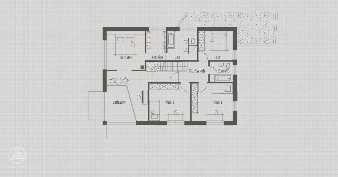 Architekten Bauhaus obergeschoss architektur im bauhaus stil bauhaus modern living