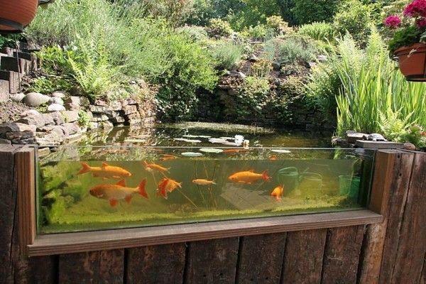 Lagos y piscinas naturales para el jard n acuario for Proyecto cria de peces en estanques