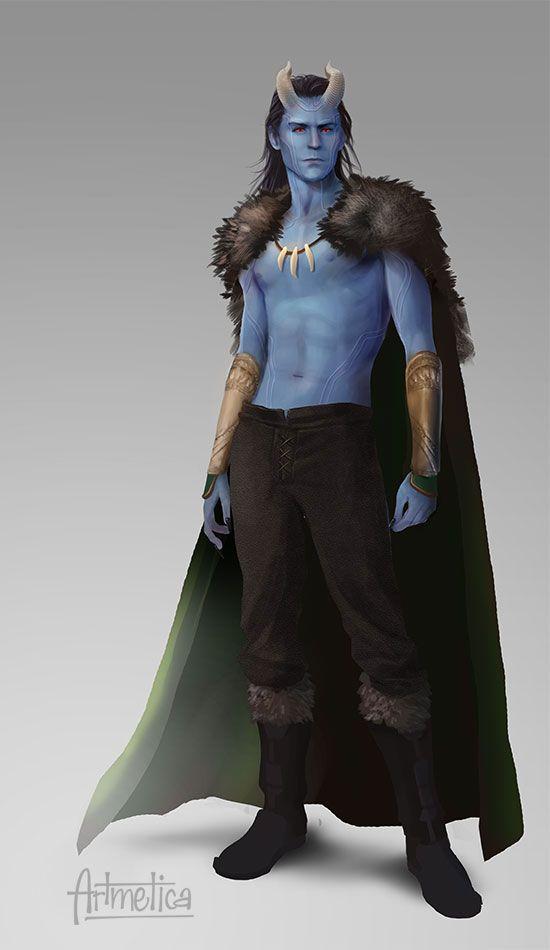 Loki by NaSyu deviantart com on @deviantART winterheart | Frostiron