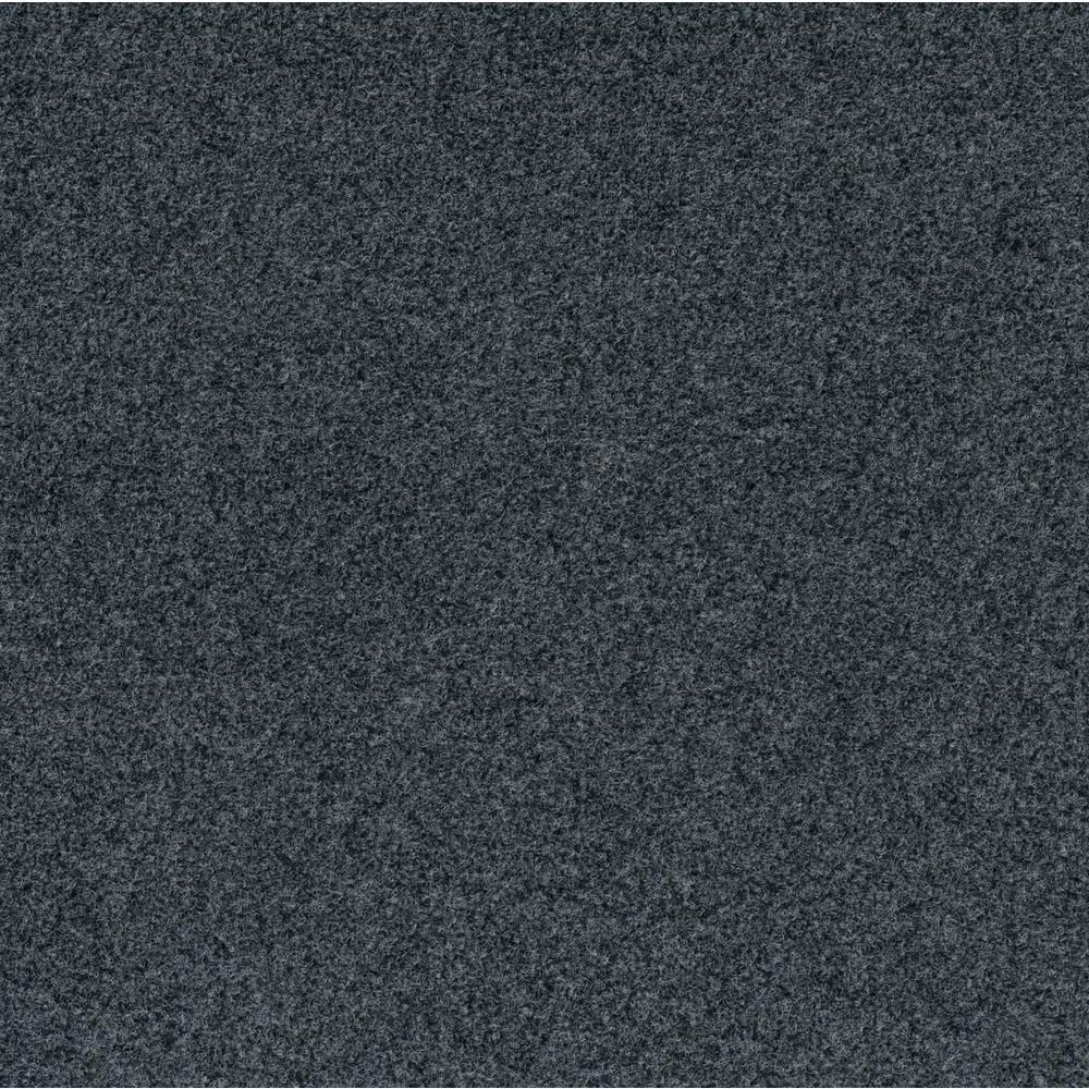 Foss Peel And Stick Grizzly Grass 24 In X 24 In Slate Grey Artificial Grass Carpet Tiles 15 Pack 7grzd67015pk The Home Depot Outdoor Carpet Carpet Tiles Indoor Outdoor Carpet