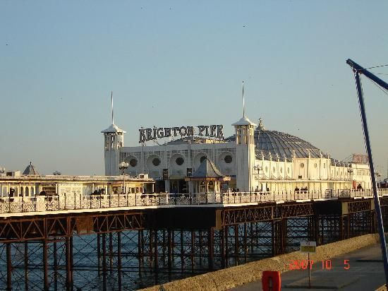 East Sussex, UK: Brighton Pier