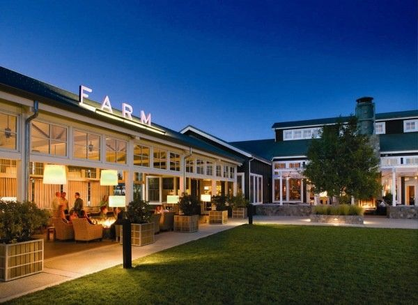 americas most romantic hotels carneros inn napa california and its magnificent farm restaurant