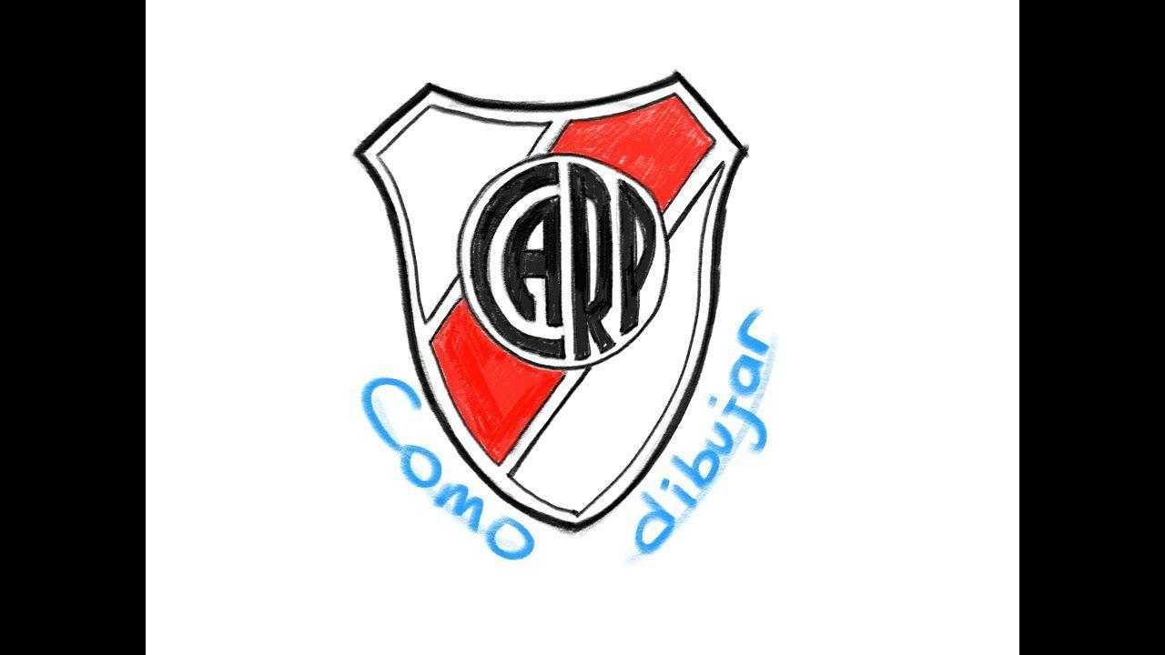 Como Dibujar El Logo De River Plate Youtube Escudo Como Dibujar River Plate