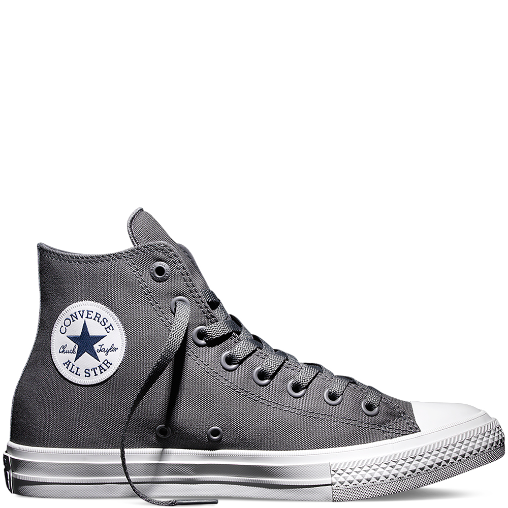Converse Chuck Taylor All Star II in Thunder/White/Navy, size 6 –