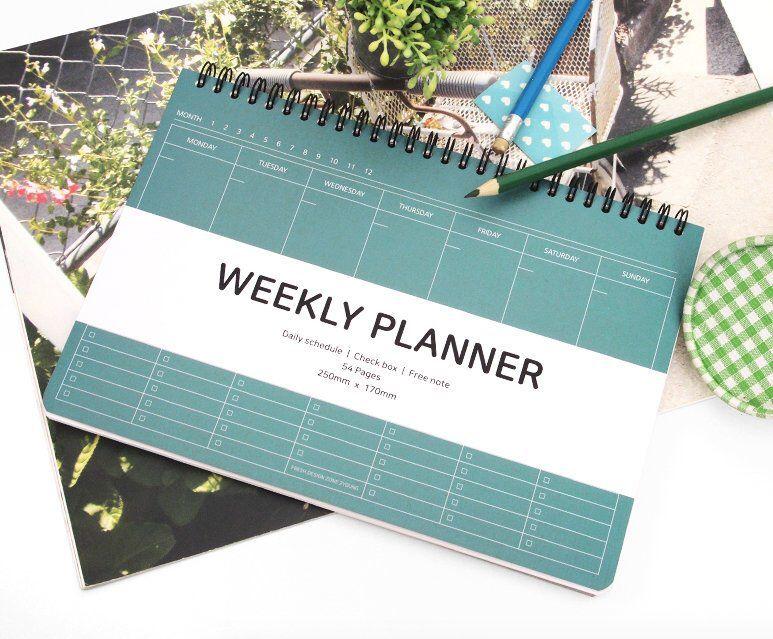 Weekly Planner / Academic Planner / 2020 Planner / Weekly