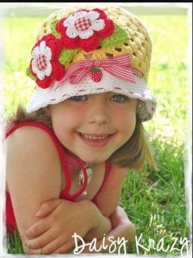 Gorro primaveral crochet  d53a31635ca