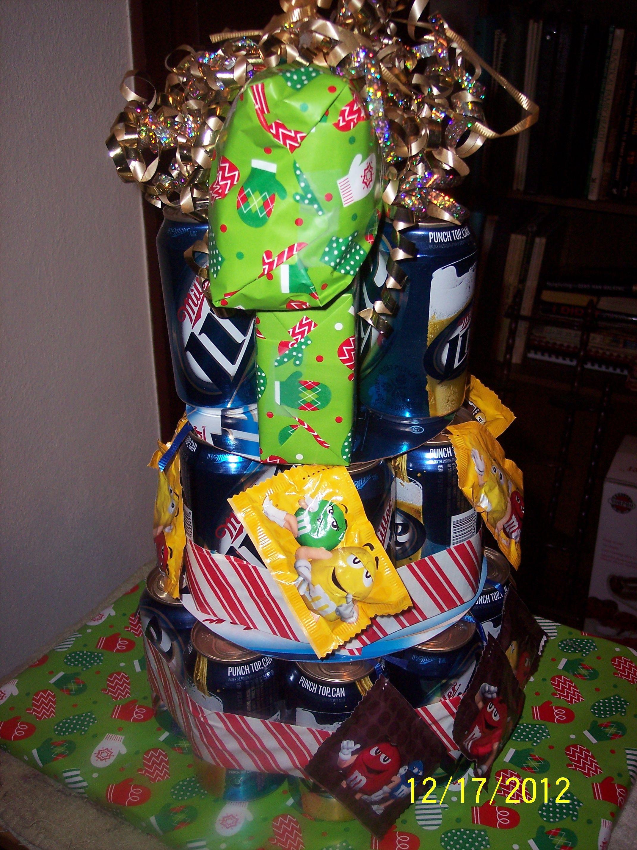 Christmas gift cake made for my soninlaw christmas