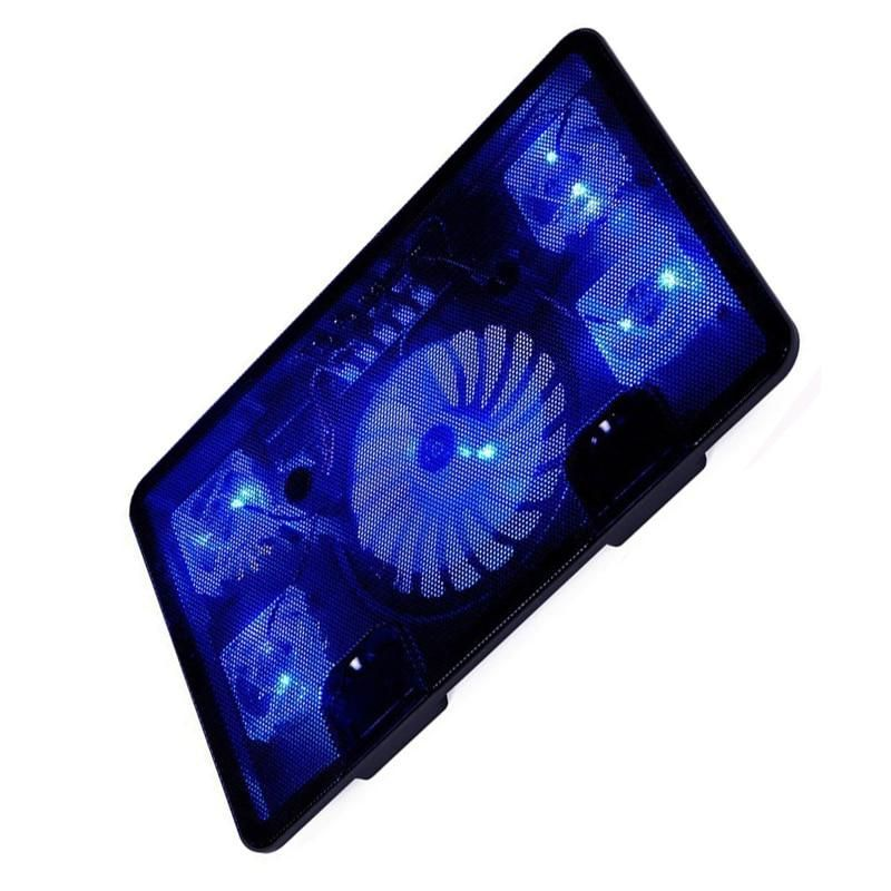 Na Ju Laptop Cooler Pad 14 15 6 17 With 5 Fans Laptop Cooler