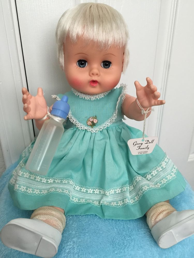 Vintage 1960 S Vogue Ginny Baby Doll 16 Quot Vinyl Doll A O W