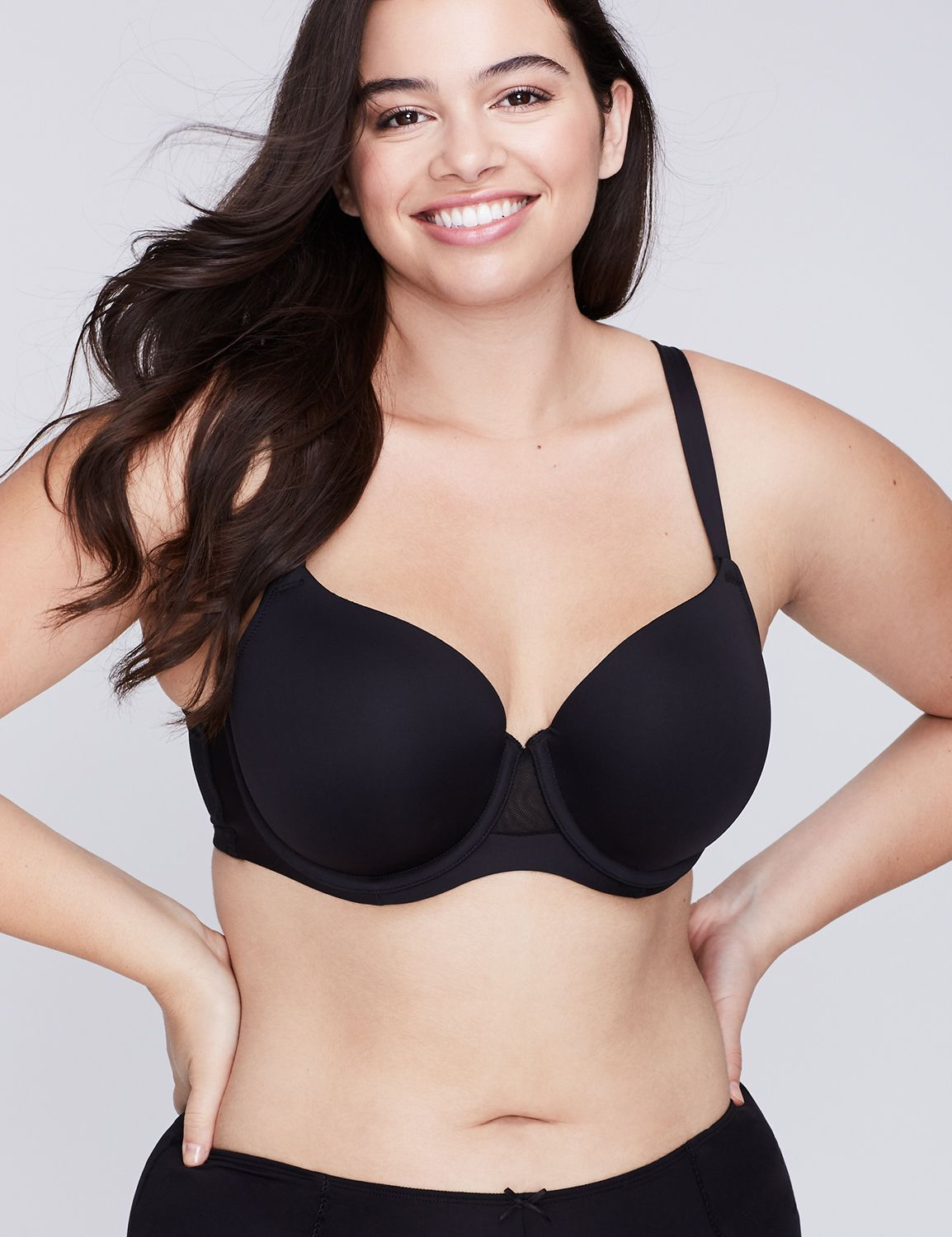 5a4956be69ba3 Cotton Lightly Lined Full Coverage Bra. French Full Coverage Cooling Bra. French  Full Coverage Cooling Bra Lane Bryant