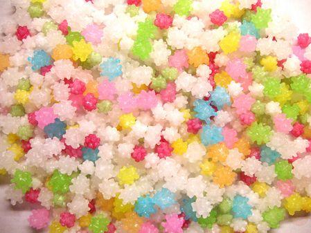 "Japanese old candy ""KONPEITOU"""