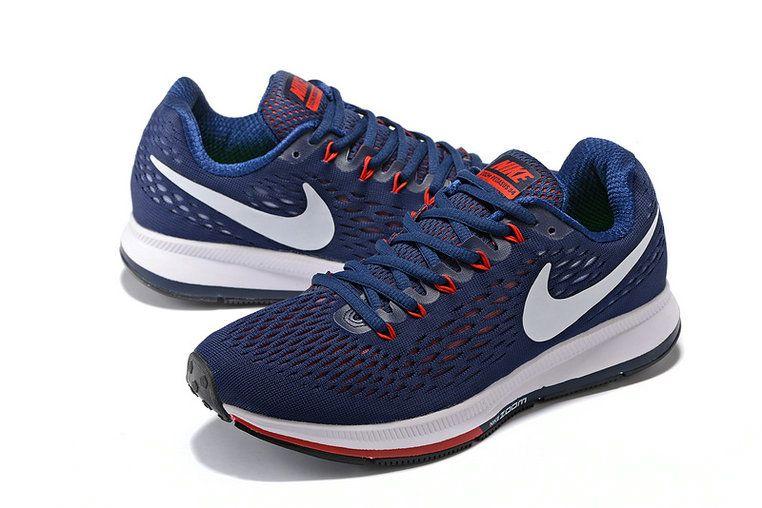 Nike Zoom 2018 Pegasus 34 Mens durk blue black | Nike zoom