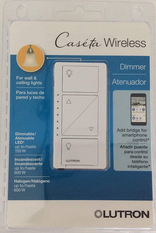 hight resolution of lutron pd 6wcl wh r caseta wireless 150 watt multi location