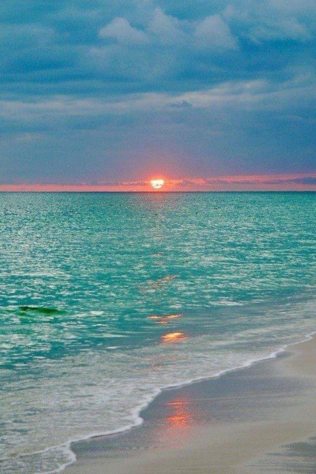 Beach Sunset Beautiful Beaches Nature Beautiful Nature