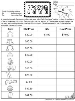 Percents Worksheets  Percents Students And Worksheets