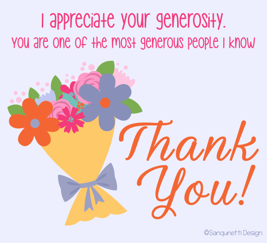Appreciate The Good In Others Say Thanks To Make Their Day Through This Simple And Sweet Tha Free Online Greeting Cards 123 Greetings Birthday Greeting Cards